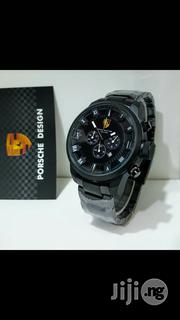 PORSCHE Design Black Crystal Chain Chronogragh Watch   Watches for sale in Lagos State, Surulere