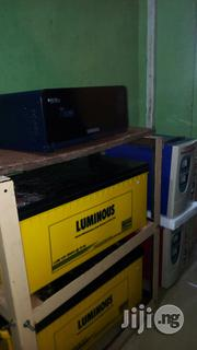 Luminous 1.5 Kva And 2 Luminous 200ah Batteries | Solar Energy for sale in Edo State, Benin City
