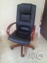 Office Diplomat Executive Wooden Arm Swivel Chair | Furniture for sale in Lagos State, Ikeja