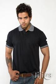 Sandhu Premium Polo Black | Clothing for sale in Lagos State, Surulere