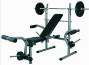 New Weight Bench With 50kg | Sports Equipment for sale in Lagos State