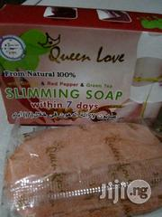 Queen Love Slimming Soap 2 100% Ginger, Red Pepper Green Tea | Bath & Body for sale in Lagos State, Alimosho