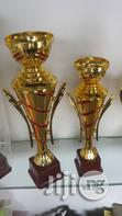 Brand New Trophies Available At Favour Sports Station | Arts & Crafts for sale in Port-Harcourt, Rivers State, Nigeria