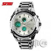 Skmei Analog Digital Chain | Watches for sale in Lagos State, Lagos Island