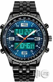 Skmei Chain Analog Digital Watch | Watches for sale in Lagos State, Lagos Island
