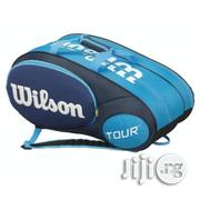 Teanni Lawn Tennis Bag Wilson Tour Blue 6 Pack - Blue | Sports Equipment for sale in Lagos State, Surulere