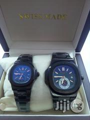 PATEK PHILIPPE Geneve Black Crystal Chain Couples Watch   Watches for sale in Lagos State, Surulere