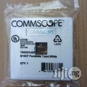 Systimax Cat6 Single + Keystone Jack Face Plate | Computer Accessories  for sale in Lagos State, Ikeja