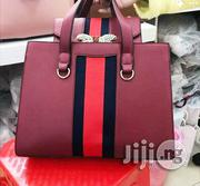 Designer Gucci Wine Hand Bag | Bags for sale in Lagos State, Lagos Mainland