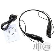 Bluetooth Wireless Earpiece Stereo Headset Earphone for All Phones | Headphones for sale in Lagos State, Yaba