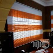 Orange An White Blind | Home Accessories for sale in Lagos State, Yaba