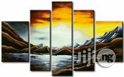 Sunset Paintings 5in1 Artworks for Wall Decors | Arts & Crafts for sale in Abuja (FCT) State, Asokoro
