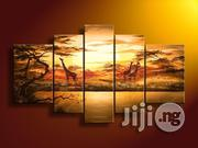 Hand Painted Savannah Painting | Building & Trades Services for sale in Lagos State, Lagos Mainland