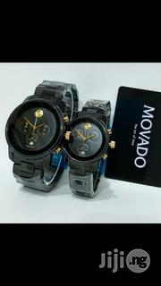 Movado Edge Black Crystal Chain Chronogragh Couples Watch   Watches for sale in Lagos State, Surulere