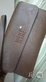 Montblanc Quality Genuine Leather Hampit Wallet   Bags for sale in Lagos State, Surulere