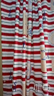 Red And White Curtain | Home Accessories for sale in Lagos State, Lagos Mainland