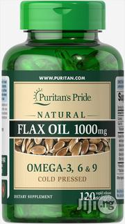 Puritans Pride Flax Oil Omega 3,6, 9,1000mg-   Vitamins & Supplements for sale in Lagos State, Surulere