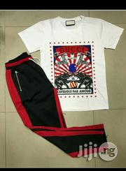Original Gucci T-shirt And Fear Of God Track | Clothing for sale in Lagos State, Surulere