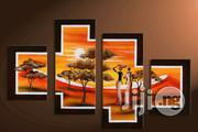 African Sunset Scenes Hand Painted Artworks   Arts & Crafts for sale in Lagos State, Ikeja