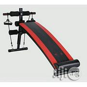 Adjustable Sit Up Bench With Dumbbell And Rope | Sports Equipment for sale in Rivers State, Port-Harcourt