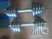 20kg Adujustable Iron Dumbells | Sports Equipment for sale in Lagos State, Ikeja