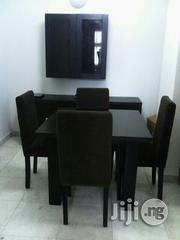 Wooden Dining Table With 4nos Chairs | Furniture for sale in Lagos State, Ikeja