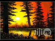 Hand Painted Sunset Artwork For Wall Decors | Arts & Crafts for sale in Abuja (FCT) State, Asokoro