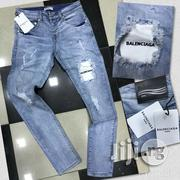Balenciaga Denim Ripped Jeans | Clothing for sale in Lagos State, Ojo