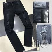 Zara Ripped Jeans | Clothing for sale in Lagos State, Ojo