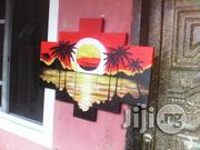 5in1 Small Sunset Painting Hand Painted Artworks | Arts & Crafts for sale in Abuja (FCT) State, Asokoro