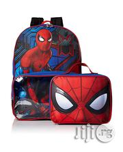 Spiderman School Bag And Lunch Box Set | Babies & Kids Accessories for sale in Lagos State, Ikeja
