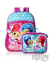 Nickelodeon Shimmer And Shine School Bag And Lunch Bag Set | Babies & Kids Accessories for sale in Lagos State, Ikeja