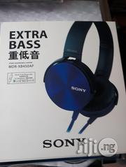 Xtra Bass Stereo Headphones Sony Mdr-xb450ap With Mic OEM | Headphones for sale in Lagos State, Ikeja