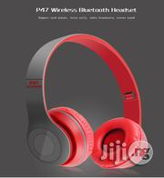 P47 Overhead Wireless Bluetooth Earphone | Accessories for Mobile Phones & Tablets for sale in Lagos State, Ikeja