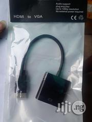 HDMI To VGA Converter Adapter Cable | Accessories & Supplies for Electronics for sale in Lagos State, Ikeja