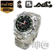Hidden Camera Wrist Watch With IR Night Vision | Security & Surveillance for sale in Lagos State, Ikeja