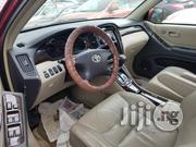Tokunbo Toyota Highlander 2003 Red | Cars for sale in Lagos State, Ikeja