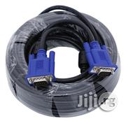 20-meter, VGA Cable - High Resolution HD15 VGA Cable   Computer Accessories  for sale in Lagos State, Ikeja