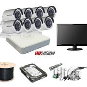 Complete Hikvision Hd-tvi 8ch DVR 8 Camera KIT | Security & Surveillance for sale in Lagos State, Ikeja