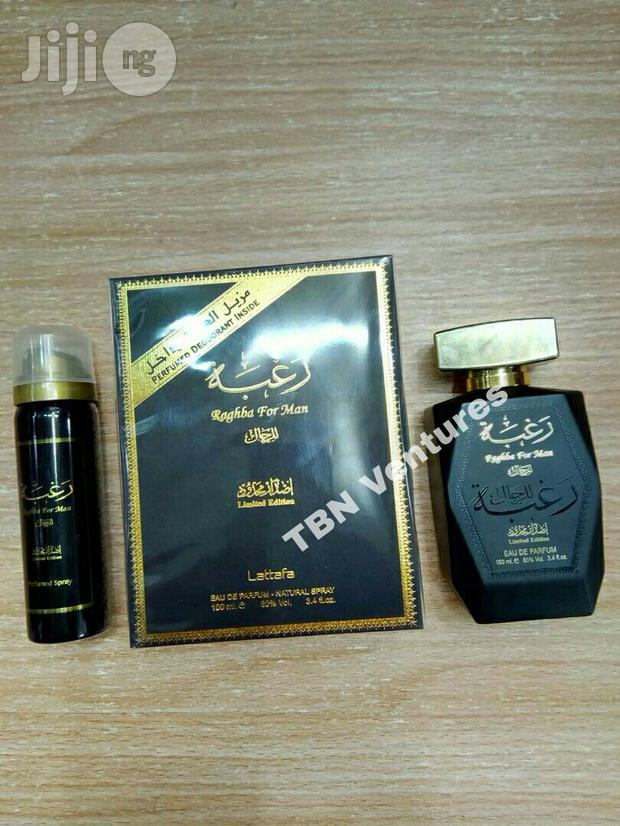 Raghba Man Limited Edition EDP 100ml With Free Deo Spray