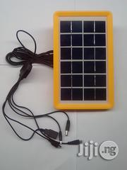 Saroda 6V 3W USB Solar Charging Panel With 5 In 1 Cable | Solar Energy for sale in Lagos State, Agboyi/Ketu