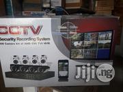 Cctv Kit Of 4 Outdoor 4 Indoor 1 Dvr With Cables | Accessories & Supplies for Electronics for sale in Lagos State, Ikeja