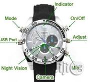 IR Night Vision 1080P HD Waterproof 8GB Hidden Camera Watch | Watches for sale in Lagos State, Amuwo-Odofin