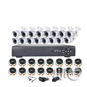 Full AHD CCTV Camera With Remote Phone View 16 Channelsl Kits Combo | Security & Surveillance for sale in Lagos State, Ikeja