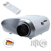 Portable Mini LED Projector - White | TV & DVD Equipment for sale in Lagos State, Ikeja