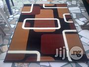 Brown And Gold Centre Rug (4 By 6 And 6 By 7)   Home Accessories for sale in Lagos State, Lagos Mainland