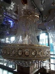 Dubai Gold Crystal Chandelier | Home Accessories for sale in Lagos State, Ojo