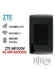 Unlocked New ZTE MF920W+4G/3G LTE Mobile Pocket Wifi Router | Networking Products for sale in Lagos State, Ikeja