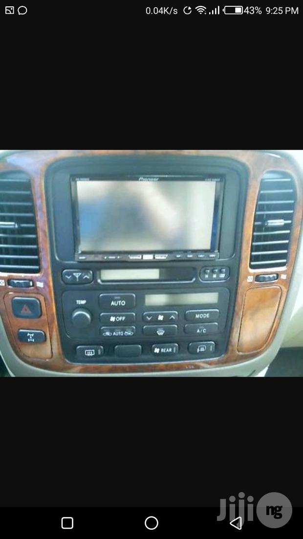 Lexus LX 470 Upgrade To DVD With Reverse Camera And Bluetooth