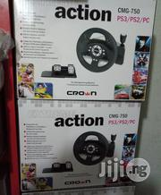 Steering Wheel Driving Crown CMG-720 | Video Game Consoles for sale in Lagos State, Ikeja